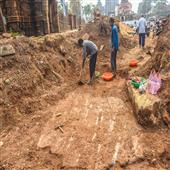The Independence:ASI-unearths-ancient-temple-floor-near-Suka-Sari-complex-in-Bhubaneswar