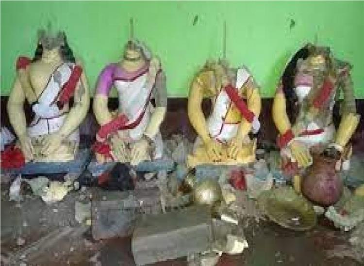 The Independence:Bangladesh-Islamists-destroy-temples-Hindus-homes-shops-attack-hindus