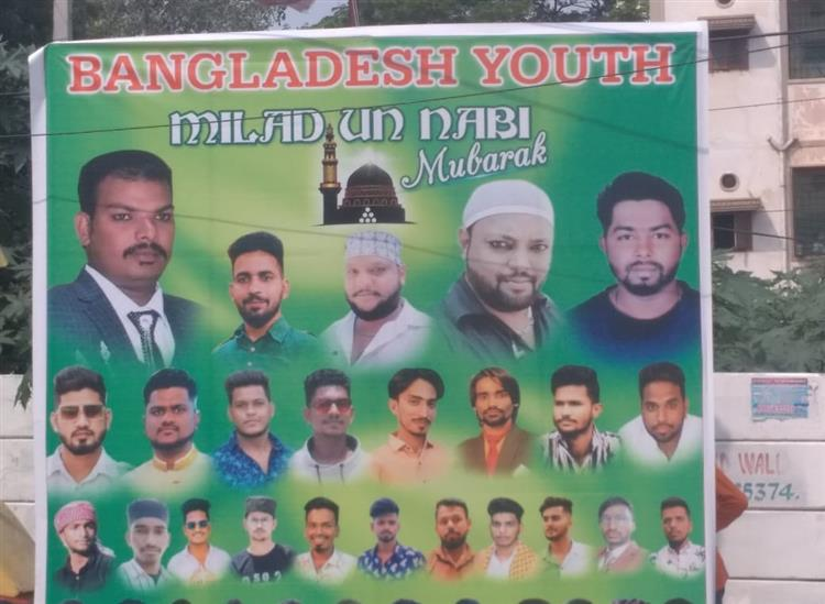The Independence:Bangladesh-Posters-in-Hyderabad-Muslim-Youths