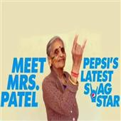 The Independence:Cricket-Fan-87-years-Old-Charulata-Patel-in-pepsi-add