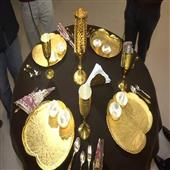 The Independence:Exclusive-gold-and-silver-tableware-made-for-US-President