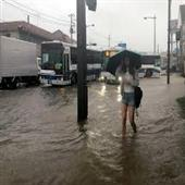 The Independence:Japan-flood-12-died
