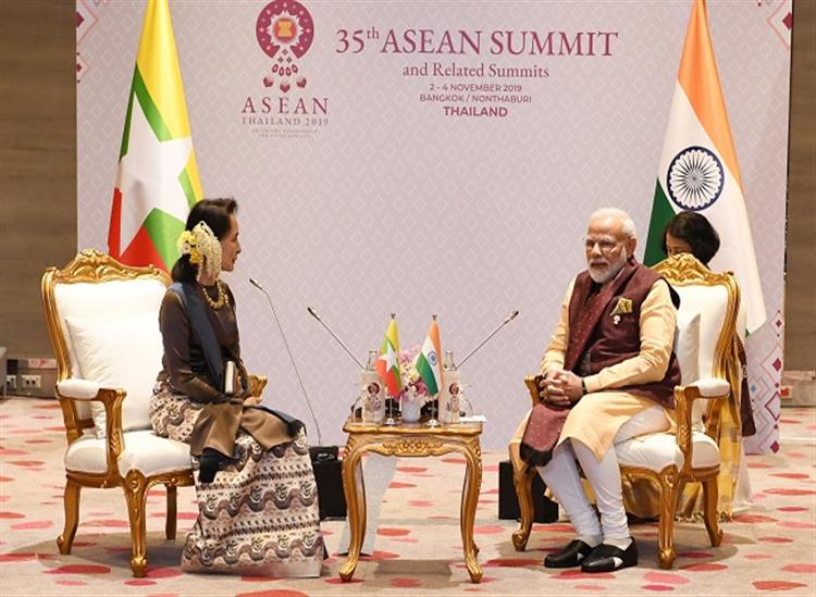 The Independence:PM-Modi-seeks-support-from-Suki-to-eliminate-terrorists