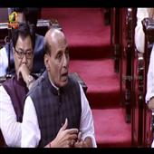 The Independence:Rajnath-Singh-in-Parliament