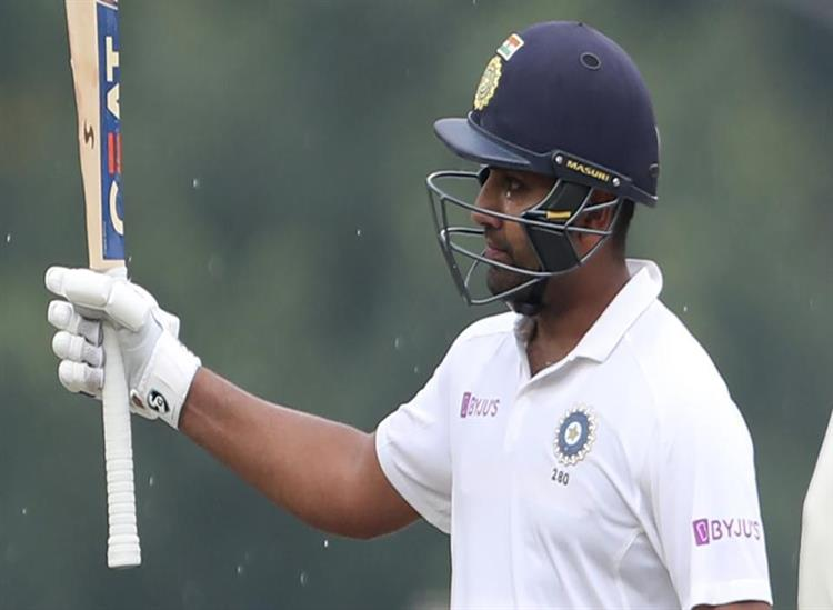 The Independence:Rohit-Sharma-hits-century-in-Ranchi-test-against-South-Africa