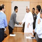 The Independence:a-high-performance-Badminton-center-to-be-open-in-Bhubaneswar--pullela-Gopichand-and-Dlamia-cement-head-meet-CM