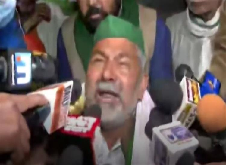 The Independence:farmer-leader-rakesh-tikait-threatened-suicide-said-farmers-are-being-tortured