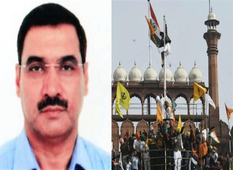 The Independence:farmer-tractor-rally-protest-red-fort-investigation-by-encounter-specialist-acp-lalit-mohan-negi