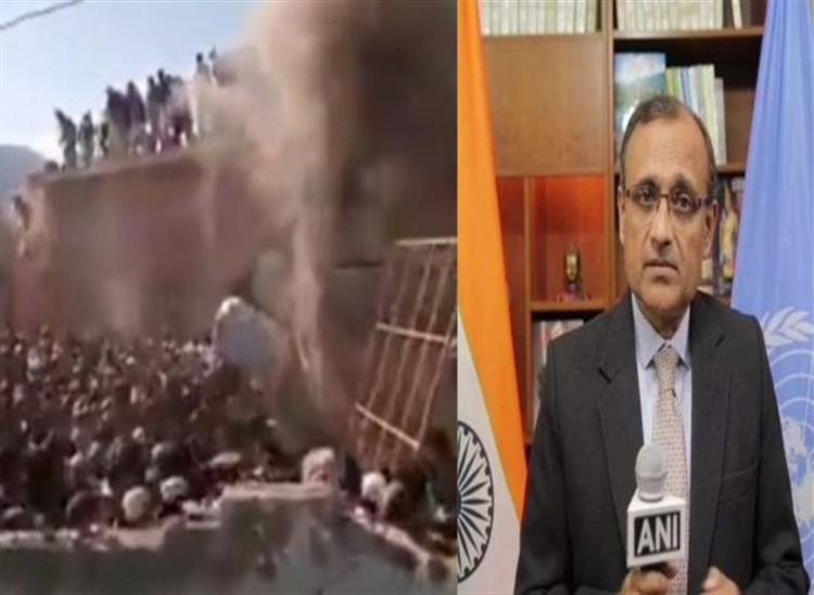 The Independence:india-slams-pakistan-in-un-assembly-over-a-temple-vandalized-in-khyber-pakhtunkhwa