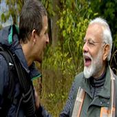 The Independence:man-vs-wild-pm-modi-most-trending-televised-event--worldwide