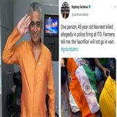 The Independence:rajdeep-sardesai-farmers-death-police-ito-delhi